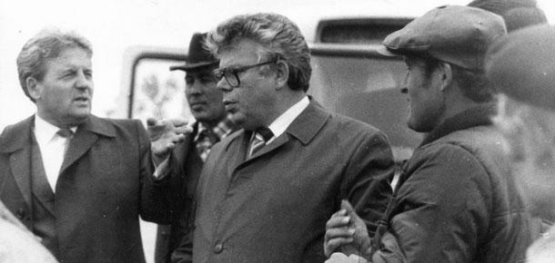 Михаил Васильевич Круссер прошел путь от первого секретаря Печорского горкома до руководителя Печорской районной партийной организации.