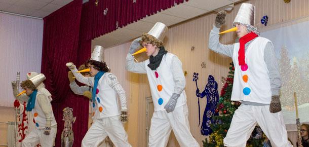 По Печоре покатилась череда новогодних праздников