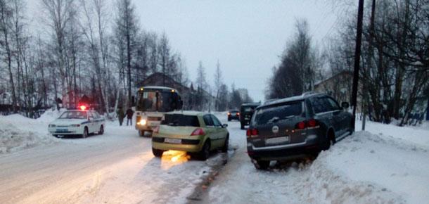 В Печоре произошло ДТП с пострадавшими