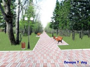 Предлагаем ознакомиться с форм-эскизами территорий города Печоры