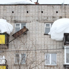 Балкон не падал