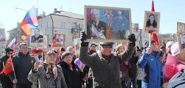 9 мая Печора вместе со всей страной встречала 73-ю годовщину Победы