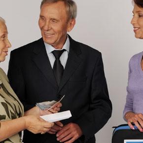 Как получат пенсии