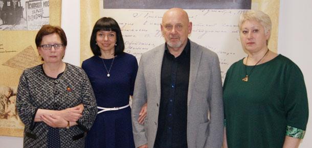 в Печорском историко-краеведческом музее состоялась встреча печорцев с главным редактором республиканского журнала «АРТ»