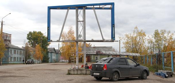 В Печоре занялись демонтажем незаконно установленных рекламных конструкций.