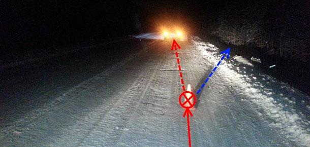 4 ноября в Печорском районе на трассе Печора – Луговой произошло дорожно-транспортное происшествие со смертельным исходом