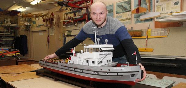 В Печоре строят корабли
