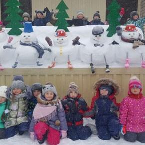 «70 снеговиков»