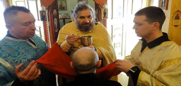 Осужденные православной общины ИК-49 (г. Печора) покаялись в грехах и причастились