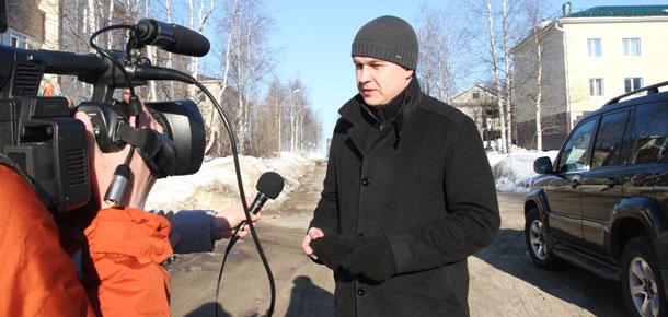Сегодня Печору посетил  министр строительства и дорожного хозяйства Республики Коми