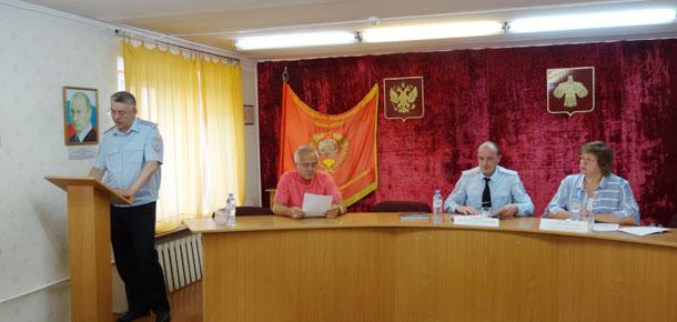 В ОМВД России по г. Печоре прошло подведение итогов