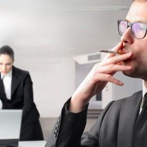 Курение и работа
